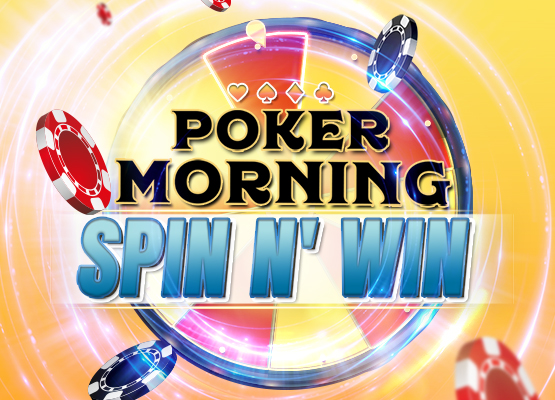 Poker Morning Spin N' Win